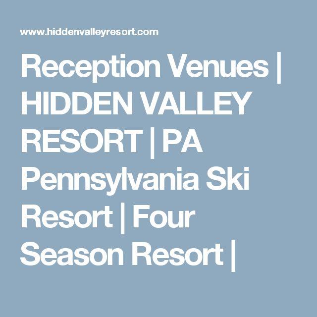 Reception Venues | HIDDEN VALLEY RESORT | PA Pennsylvania Ski Resort | Four Season Resort |