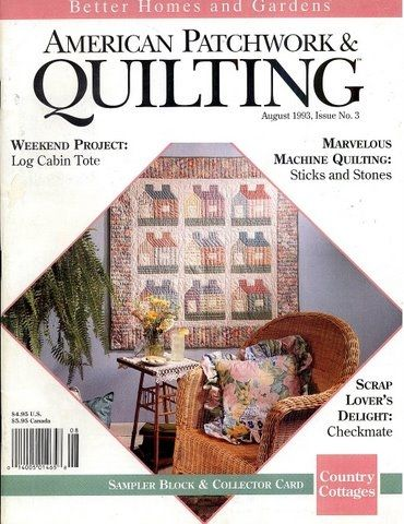 American Patchwork  QUILTING Aug 1993