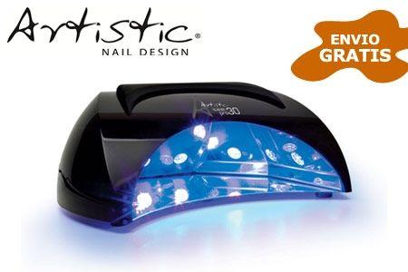 Lampara uñas ARTISTIC LED PRO 30. Según nuestros clientes es la mejor lampara.