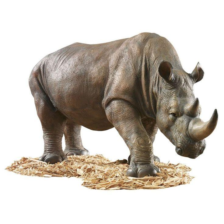 Design Toscano South African Rhino Garden Sculpture - KY71133