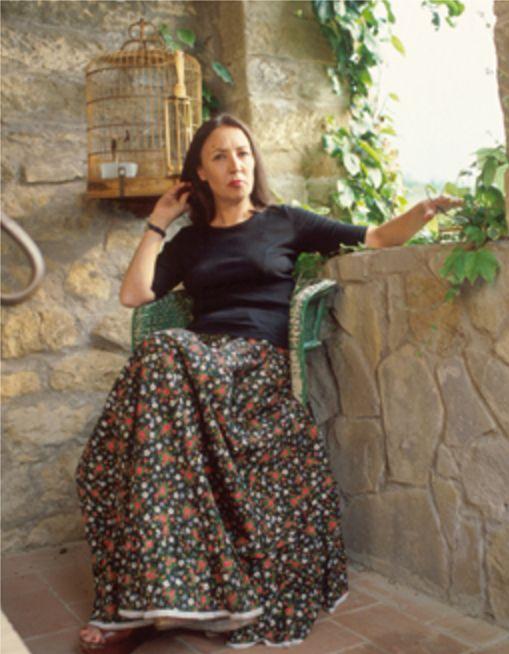 Oriana nella casa di Greve in Chianti (3) - Foto - Oriana Fallaci