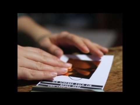 DIY Goldeffekt auf Papier - mit dem Laminiergerät | Transferfolie | Minc Folie - YouTube