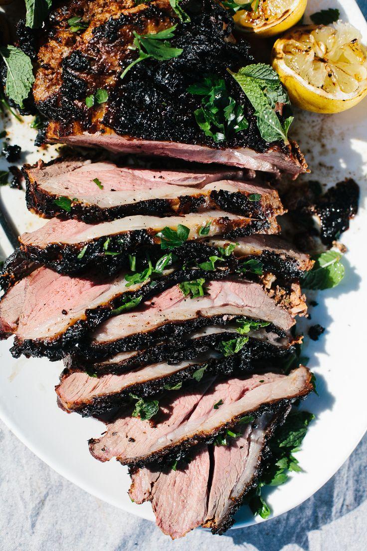 Grilled Leg of Lamb FoodBlogs.com