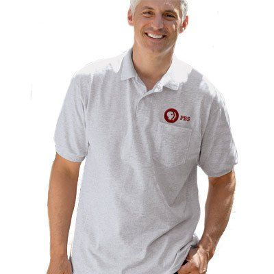 22 best custom polos logo embroidered ladies and mens for Embroidered work shirts no minimum order