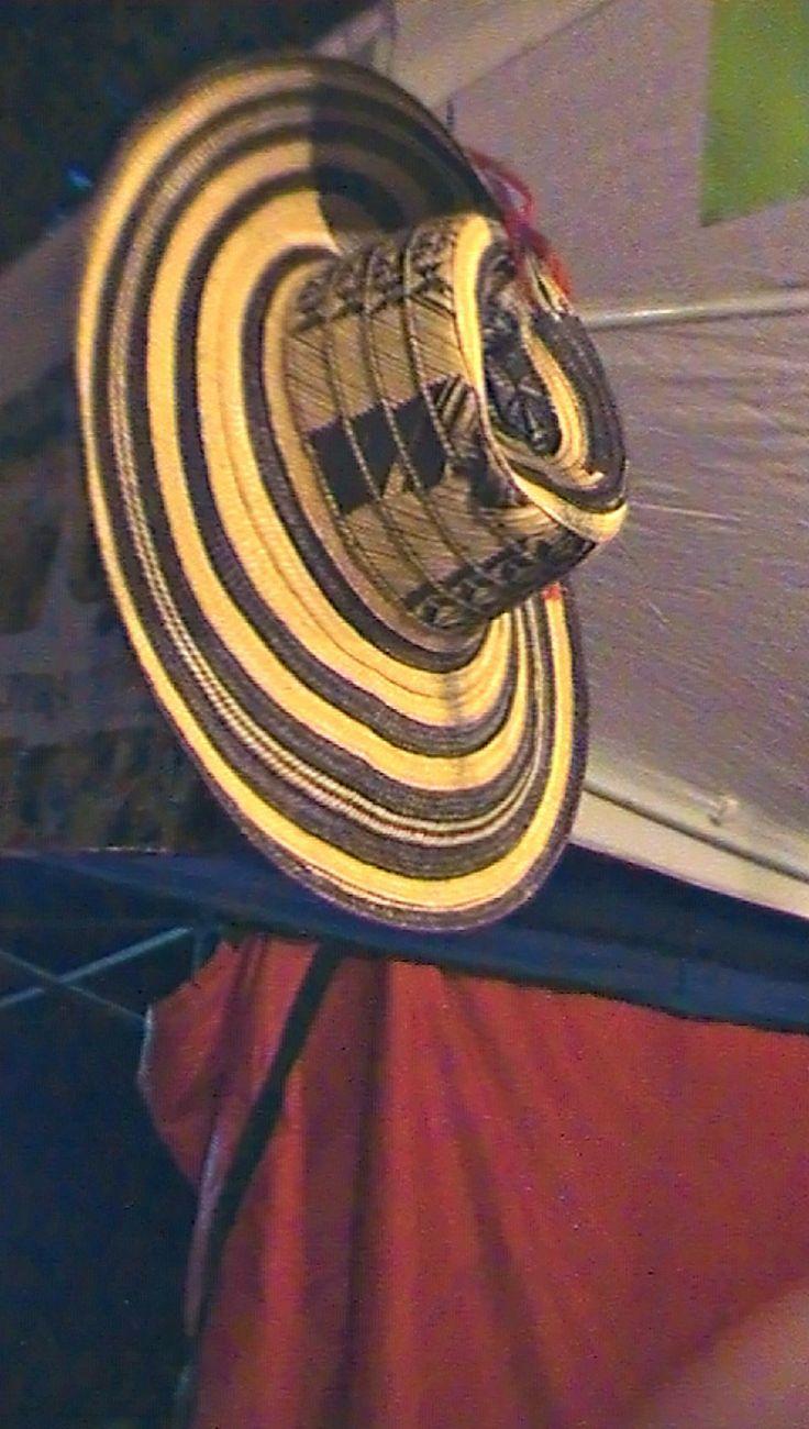 Sombrero colombiano.