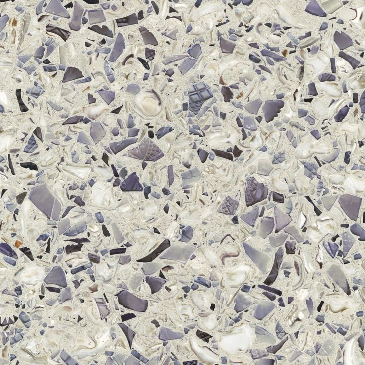 Counter tops made from: OYSTER SHELLS, cranberry glass, crushed Georgia  marble Amethystos - Recycled Glass Products | Vetrazzo This