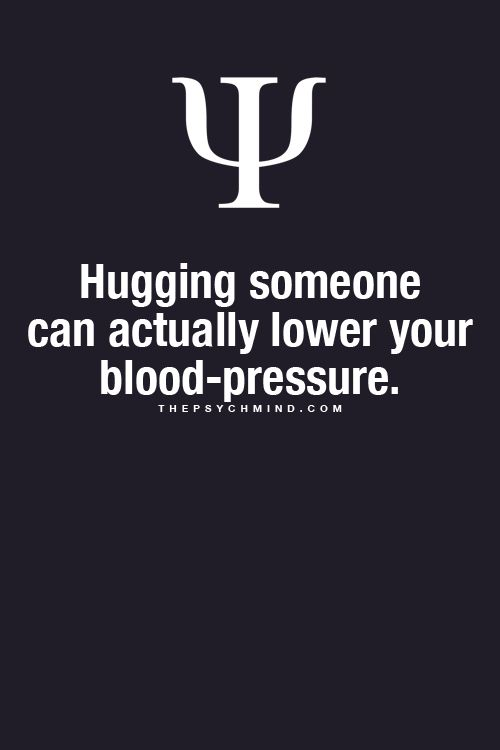 And I thought I was just a touchy person...turns out I really am looking out for my health:)