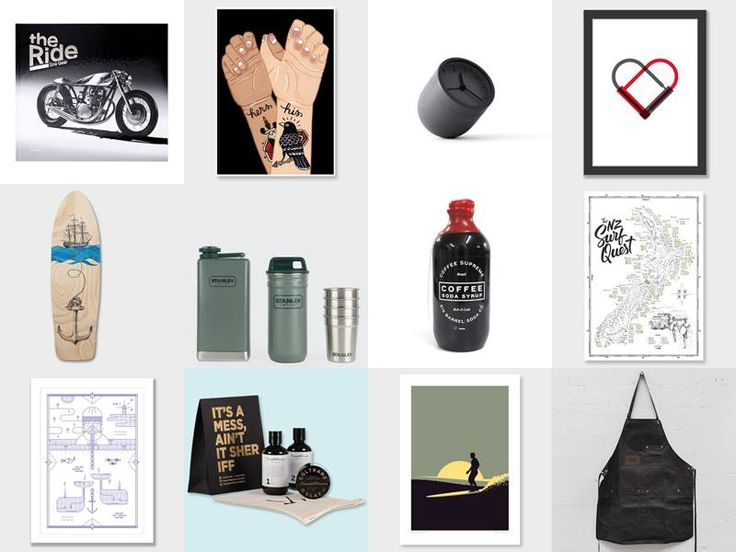 Happy Friday! We're putting together a series of design-loving Gift Guides for you (with goodies all from NZ-based stores), and the first of them is on our blog now - GIFTS FOR HIM Peep our picks here:  http://nzartprints.co.nz/2015/11/gift-guide-hot-for-him/