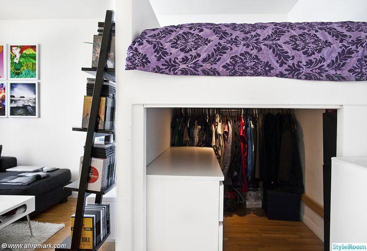garderob,våningssäng,steghylla,loftsäng,sovrum,compactliving