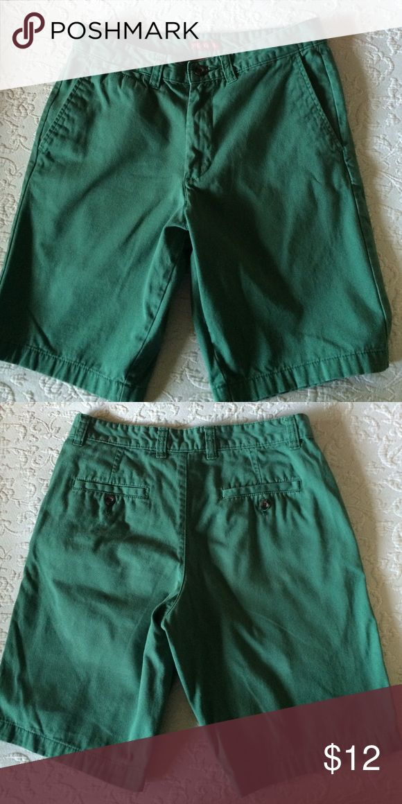 """Merona men's chino shorts Nice quality, excellent condition shorts -- rarely worn. 10"""" inseam. Merona Shorts Flat Front"""