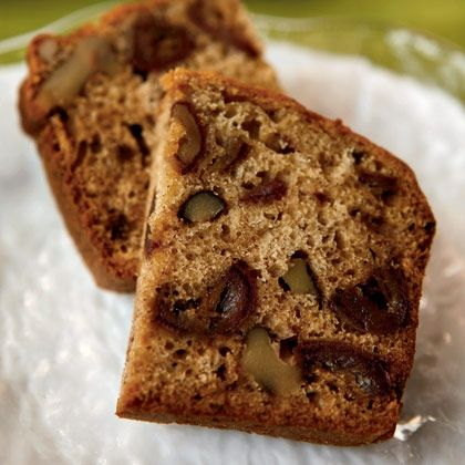 Directions: Combine walnuts, dates, soda and salt  in a mixing bowl. Add the shortening and boiling water and let stand for 20 minutes. Beat the eggs, vanilla, then beat in the sugar and flour. Mix in the date and nut mixture. Turn the dough into a greased loaf pan and bake in a preheated 350 […]