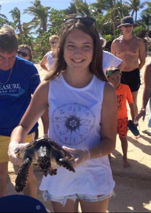 turtle release #treasureislandfiji