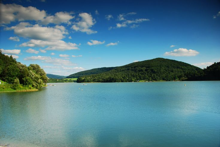 Lake Solina - about a 2 hour drive from Rzeszów is Poland's biggest artificial lake, surrounded by beautiful mountainous scenery.