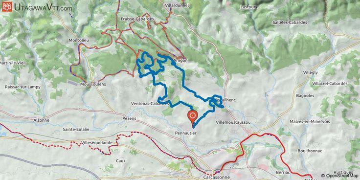 [Aude] Ronde de la Canarde 2017 - 39 km Rando annuelle organisée début mai. Elle emprunte les secteurs des garrigues de Ventenac et d'Aragon.  Beaucoup de singles et quelques pistes de liaison. Cette trace a été nettoyée de nombreux passages privés soumis à une autorisation exceptionnelle de passage pour le jour de la rando uniquement.