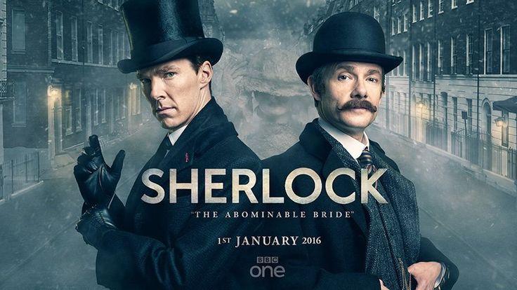 """L'épisode de Noël, qui a reçu le titre """"The Abominable Bride"""" sera diffusé le 1er janvier au Royaume-Uni et au États-Unis. Pour la première fois dans l'histoire l'émission Sherloc…"""