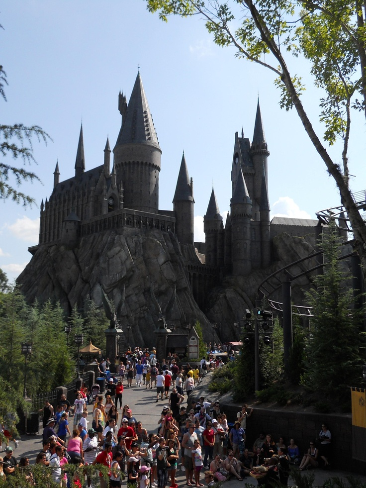 Harry Potter Land - if someone takes me here I will love them forever