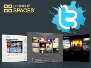 twitter y posterous #socialmediaPosters Spaces, Posters Socialmedia
