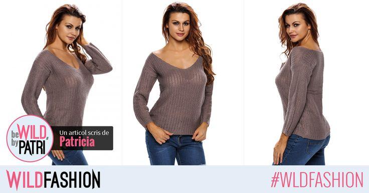 Hello, fetelor! Sigur aveti nevoie de inca o bluza pentru iarna... Ce ziceţi de acesta?