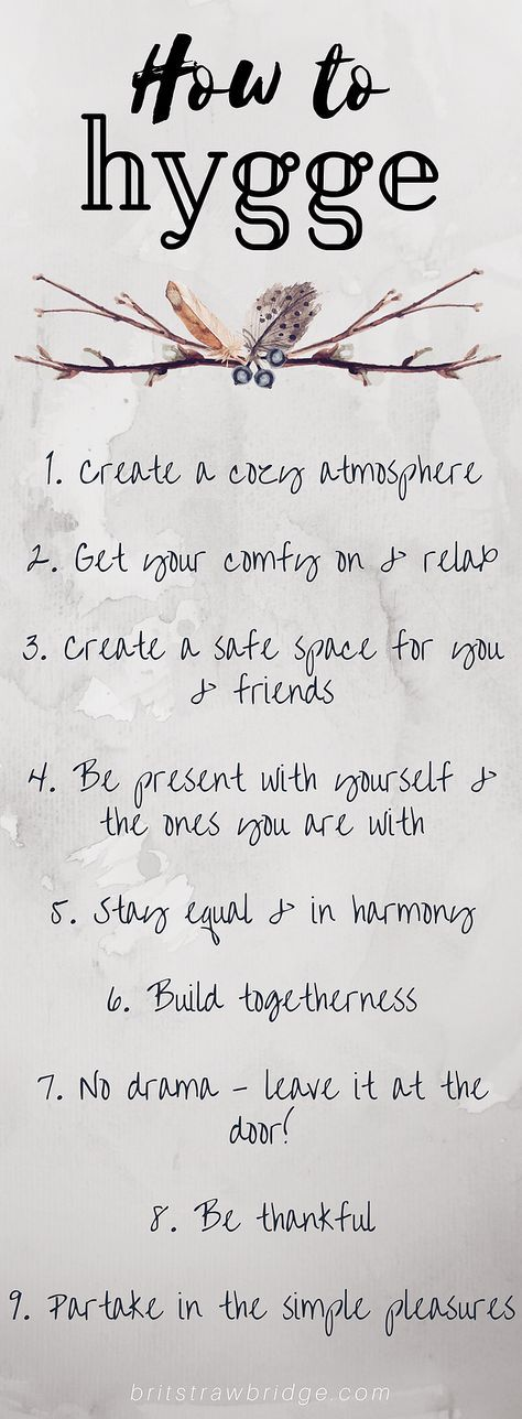 How To Hygge #simpleliving #livesimply #hygge