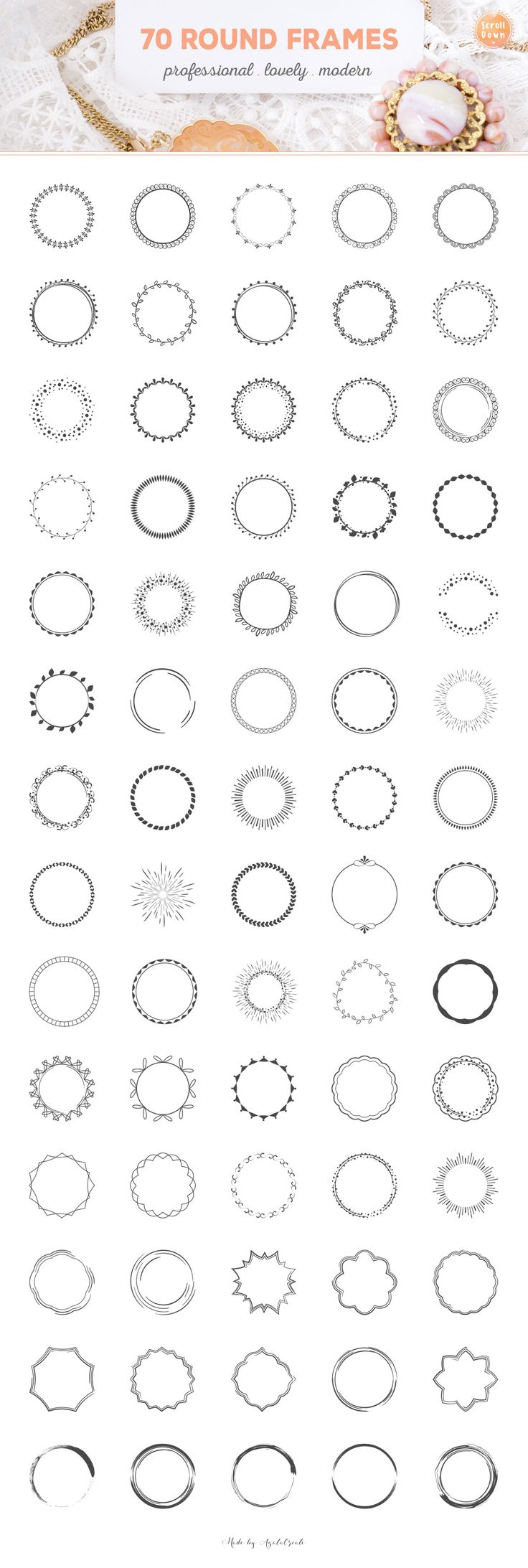 LogoCreator 380+ Elements & Mock-Ups by AgataCreate on @creativemarket