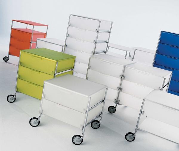 Kartell Mobil, Design: Antonio Citterio