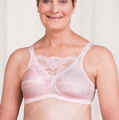 Trulife Jessica Mastectomy Camisole bra - Pink