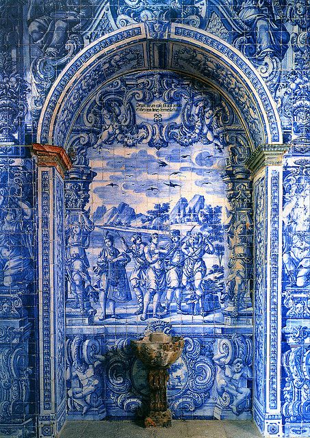 Azulejo Portico, São Lourenço, Portugal | Flickr - Photo Sharing!