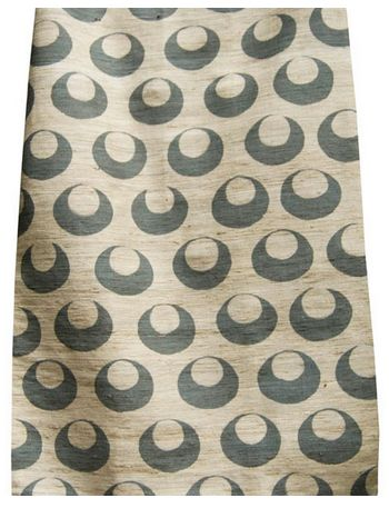 Good Look Room - Fabrics - Collections - Arjumand - The Imperial - TURKISH MOON BLUE TUSSAH SILK