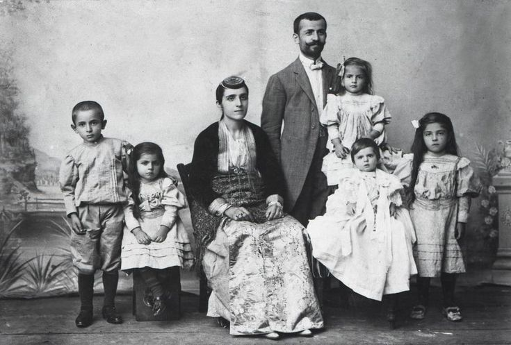 Pontian Greek family of the early 1900s.