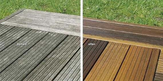 Top Tips on how to clean decking including decking maintenance, treatment, preservers, decking oils and stains to get the most out of your decking.