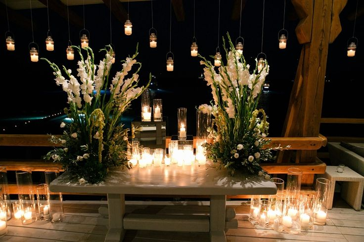 """Party decoration ! ! ! Loads of candle to light up the """"party fire""""."""