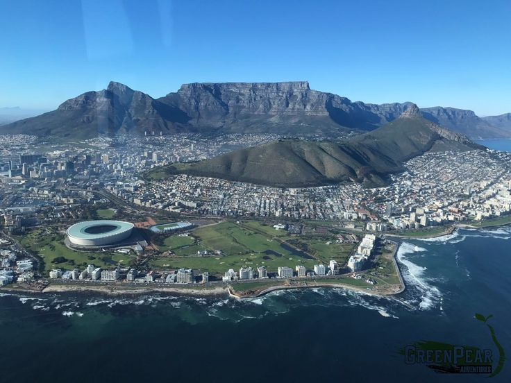 Flying over Cape Town in a Helicopter. WOW... Cape Town, South Africa