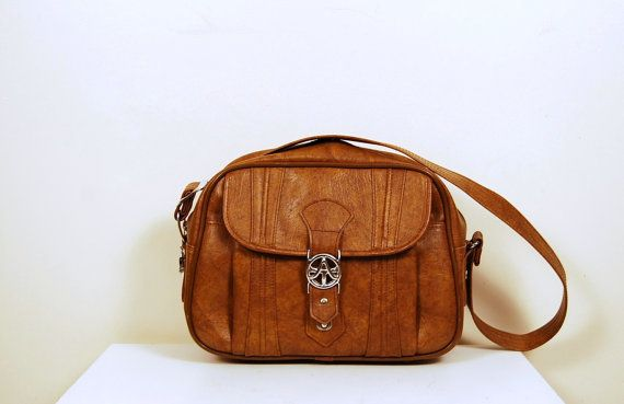 Autumn Brown Messenger Bag