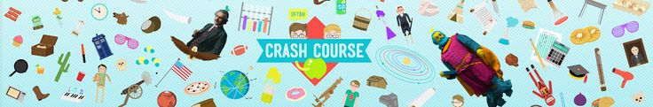 crashcourse - Fun videos for science, history, and literature.