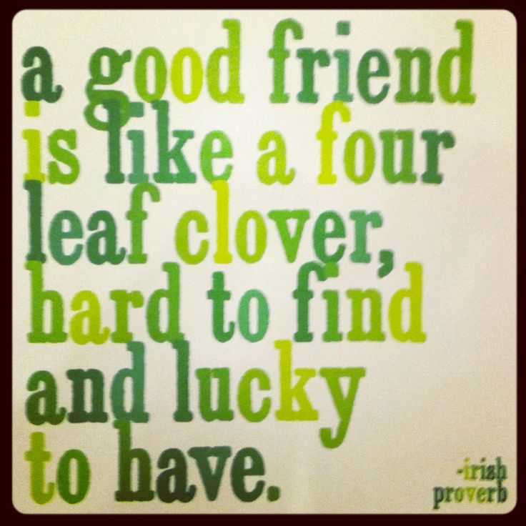 Quote of March 17 2017 Happy St. Patrick's Day