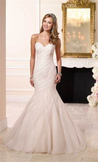 47 Ideas For Wedding Dresses Fit And Flare Rouching Tulle