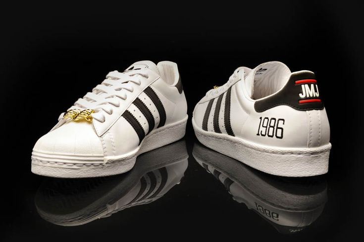 "Adidas Originals Superstar 80s - Run DMC ""My Adidas"" 25th Anniversary"