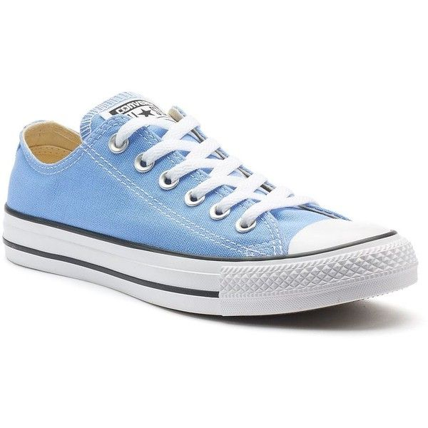 Adult Converse All Star Chuck Taylor Sneakers ($55) ❤ liked on Polyvore featuring men's fashion, men's shoes, men's sneakers, light blue, mens lace up shoes, mens shoes, mens breathable shoes, mens rubber shoes and converse mens shoes