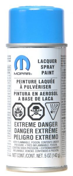 MOPAR® Touch Up Paint 5 oz Spray Can in Cosmos Blue Paint Code JB4 | Jeep Parts and Accessories | Quadratec