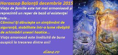 diane.ro: Horoscop Balanţă decembrie 2015