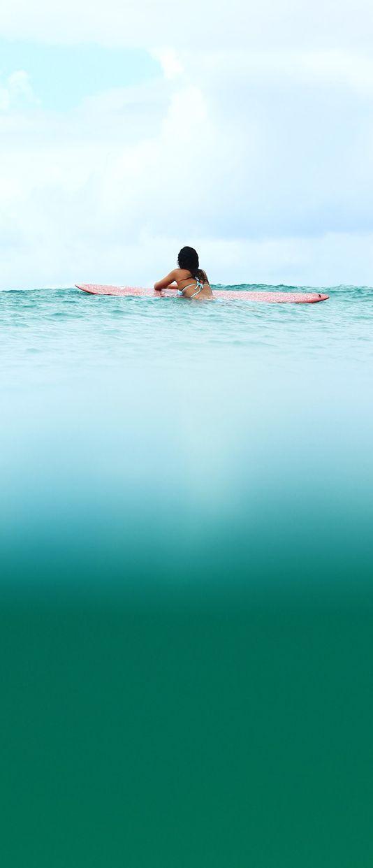 La foto de surf de roxy