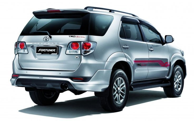 Toyota Fortuner 2015 silver