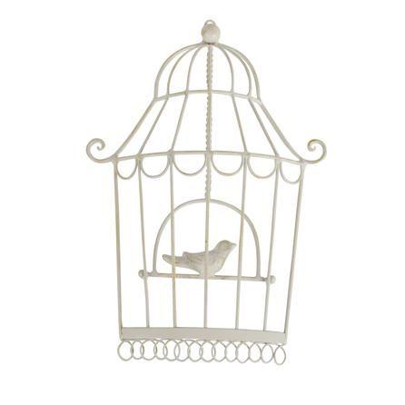 Cream Metal Birdcage #dunelmmill #PinItToWinIt