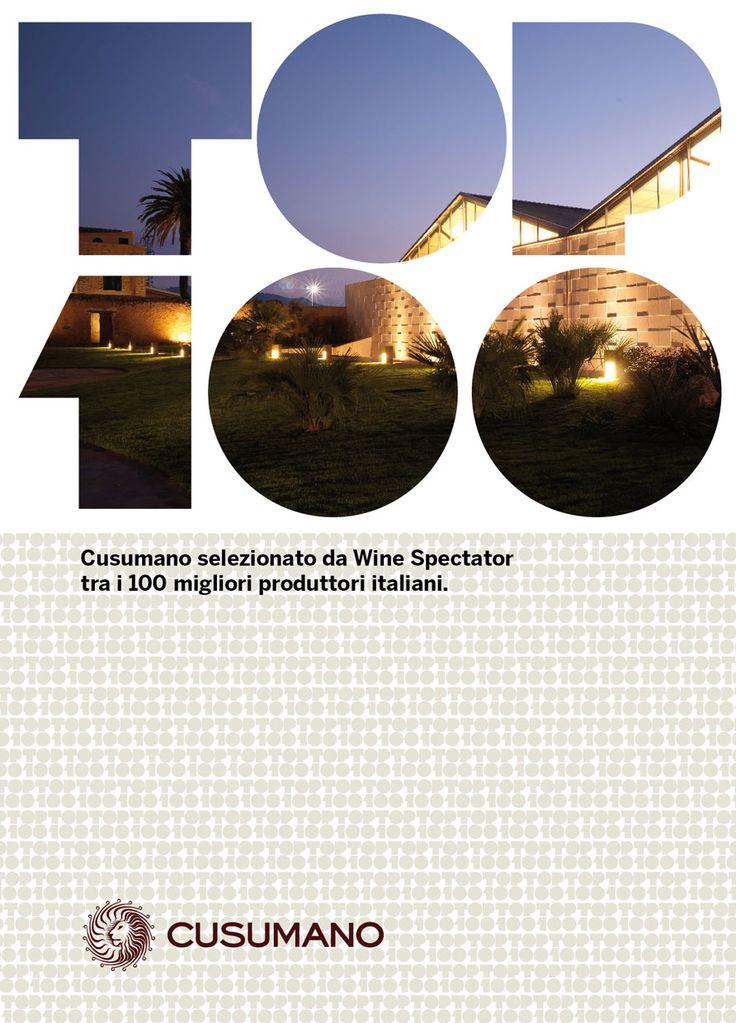 Cusumano top 100 wineries