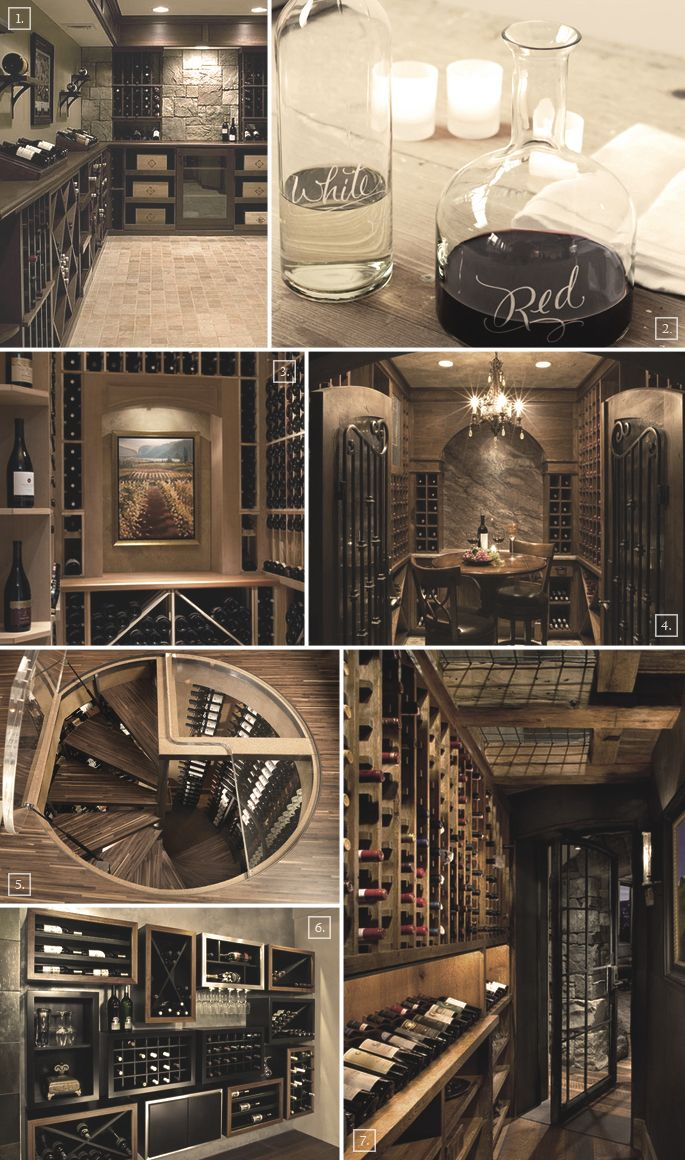 Ideas for setting up a wine cellar in the basement..