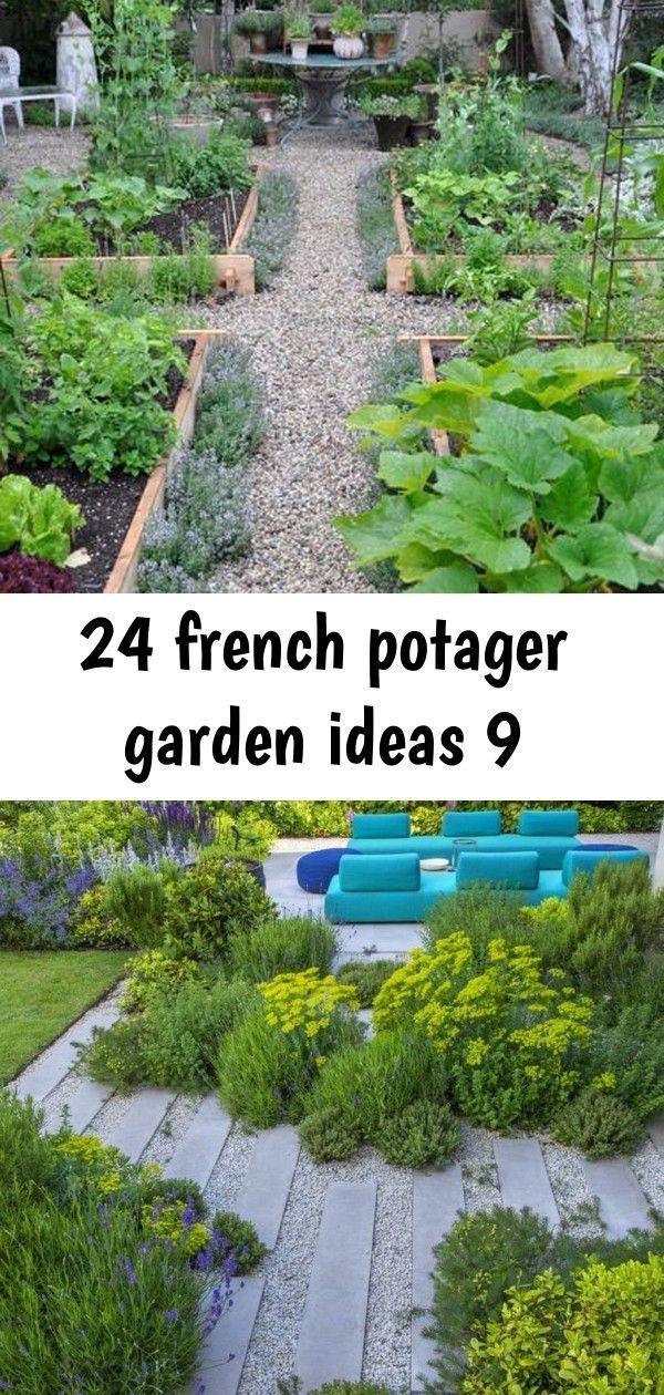 24 French Potager Garden Ideas Fancydecors Excellent Modern Garden Design Idea Exc In 2020 Potager Garden Vegetable Garden Design Vegetable Garden Design Small