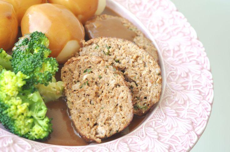 Ljuvligmat.se - en mat- och bakblogg - Köttfärslimpa med persilja