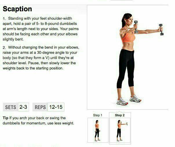 Scaption - Arms, Shoulders, Back
