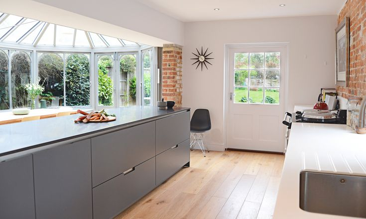 Santos kitchen dise o de cocina minos en gris antracita for Kasa diseno interior