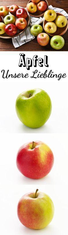 Vom saftigen Boskop bis zum süßen Royal Gala, wir zeigen Ihnen die beliebtesten Apfelsorten. Dazu gibt es für jede Apfelsorte leckere Rezeptideen!